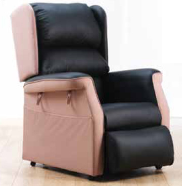 Sr. Mary Lucey received the gift of a Rise and Recline chair from O'Flynn Medical