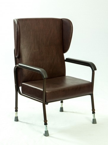 wing back orthopedic bariatric chair