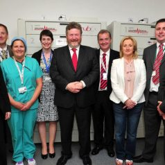 implementation-of-scrubex-in-st-james-hospital-with-minister-reilly