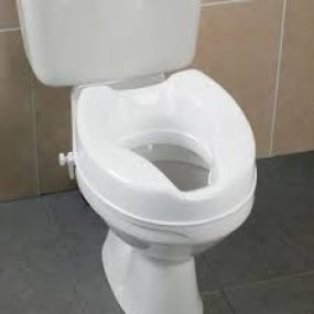 Raised Toilet Seat (without Lid)