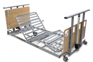 Ultra Low Profiling Bed