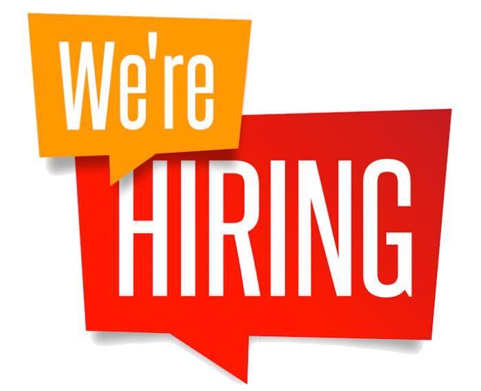 We're hiring !!!