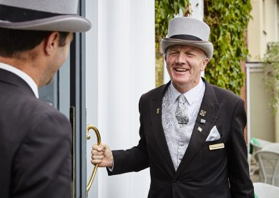 Concierge Frank O'Connell