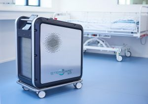 Sterisafe Pro in hospital room